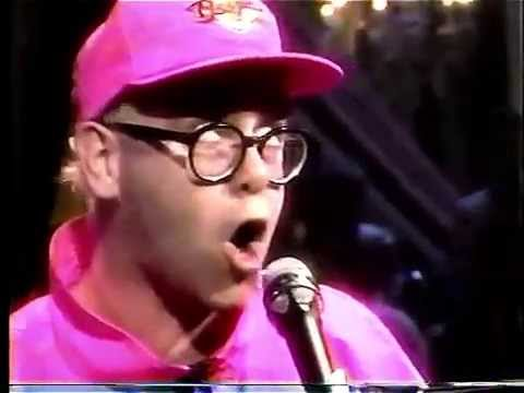 Elton John  Bennie and the Jets MTV Unplugged 1990 HD