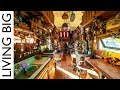 From Trash To Treasure: Amazing School Bus Conversion Using All Reclaimed Materials
