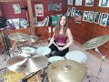 IRON MAIDEN - THE NUMBER OF THE BEAST - DRUM COVER by CHIARA COTUGNO
