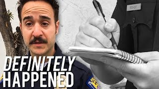 This Cop Only Tickets Himself | Definitely Happened