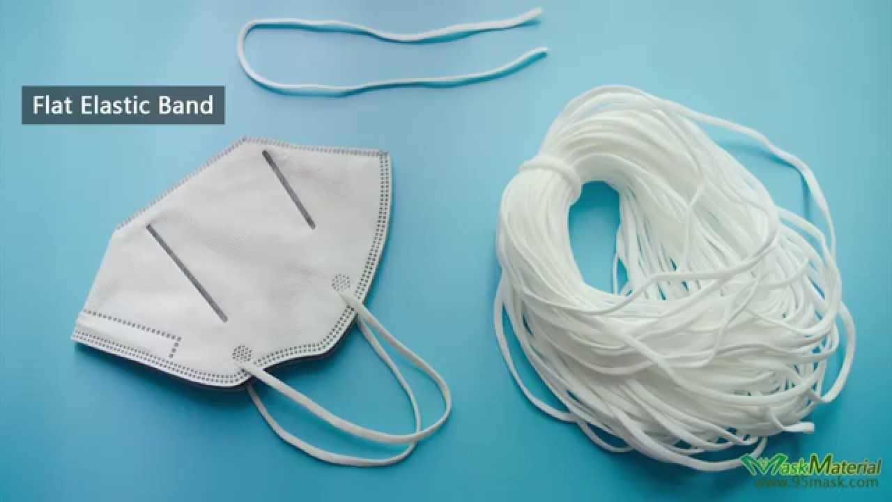 Flat Elastic Band Face Mask Elastic Cord Elastic String For
