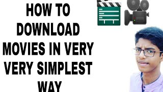 How to download movies in one step