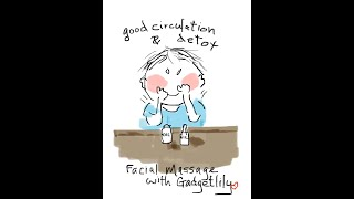 Facial massage | home face massage | lymphatic drainage massage | antiaging skincare