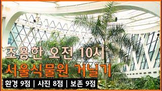 평일 오전의 서울식물원…