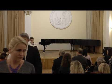 Отчетный концерт студентов заочного отделения кафедры хорового и сольного народного пения