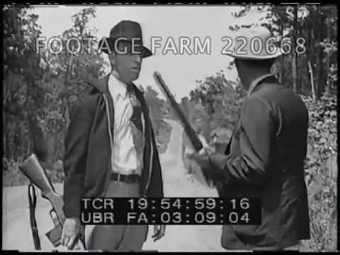 The Retribution of Clyde Barrow and Bonnie Parker 1/2 - 220668-06 | Footage Farm