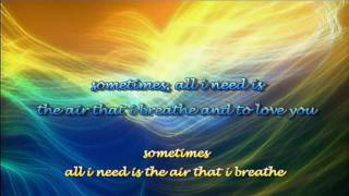 Watch Barry Manilow The Air That I Breathe video