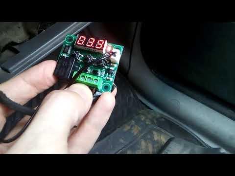 Ремонт кондиционера Ford Galaxy I (Шаран Sharan) часть 2. Датчик обледенения и его аналог за 1.5$