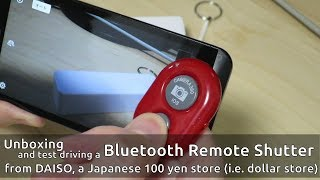 bluetooth Remote Shutter: Unboxing and test driving it!