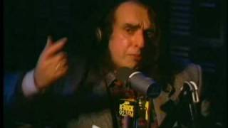 Tiny Tim talks about his favorite products on Stern 1996