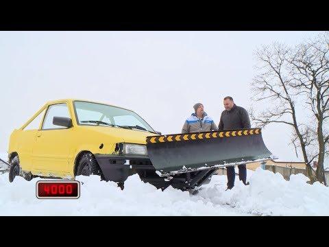 Paweł sprzedaje samochód przerobiony na pług śnieżny [Wojny samochodowe]