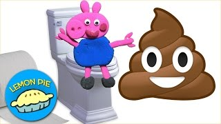 Peppa Pig Play-Doh Poops With George Potty Training