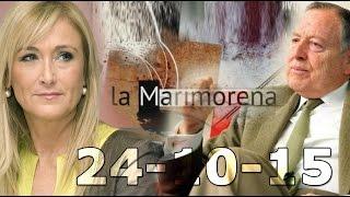 La Marimorena 13tv 24/10/15 | Cristina Cifuentes  |  Álvarez del Manzano | Luis Carbonell
