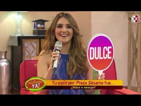 #VIDEO Entrevista de @DulceMaria en @CuentameloYaOf