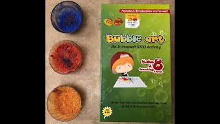 | Unboxing Bubble Art | Do It Yourself Activity | Make Your Own Handcrafted Greeting Card |
