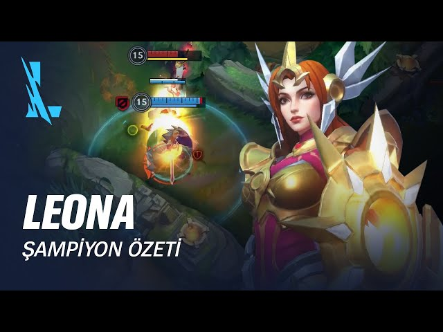 Leona Şampiyon Özeti | Oynanış - League of Legends: Wild Rift