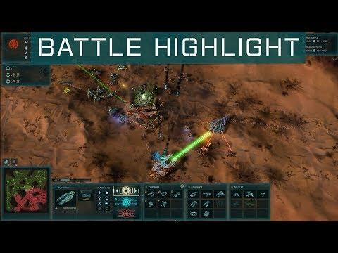 Ashes of the Singularity: Escalation - Battle Highlight vs Shimbalama on Mirach
