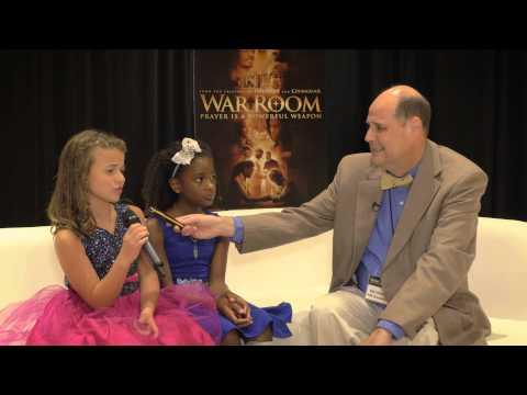 War Room Red Carpet Atlanta - Alena Pitts (Danielle) and Jadin Harris (Jennifer) | Faith Radio