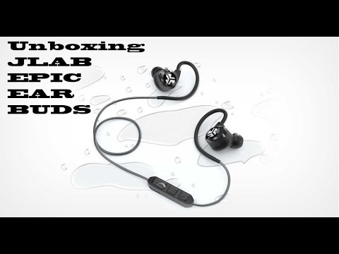 unboxing jlab epic bluetooth earbuds youtube. Black Bedroom Furniture Sets. Home Design Ideas