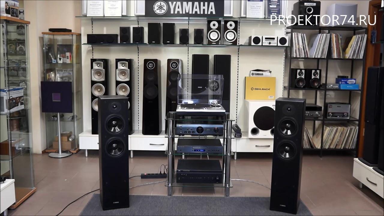 Обзор звукового проектора Yamaha YSP-5600 с Dolby Atmos - YouTube