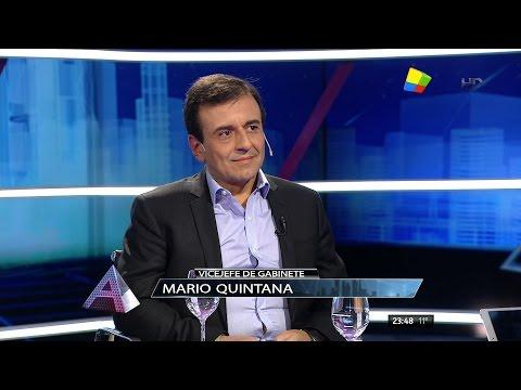 """Mario Quintana (Vicejefe de Gabinete) en """"Animales sueltos"""" de Alejandro Fantino - 25/06/16"""