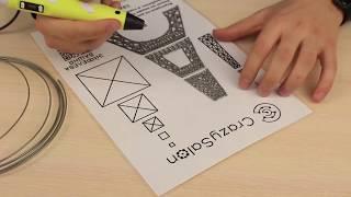Рисуем 3Dручкой! Большая Эйфелева башня
