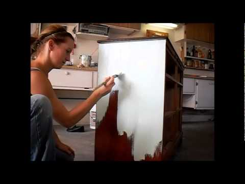 diy chalk paint furniture painting techniques youtube