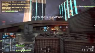 Battlefield 4 - Utilizzando Una Signor Mitragliatrice - Gameplay Condito Di Rage :D