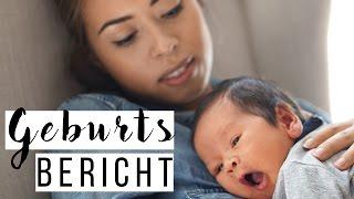 Geburtsbericht natürliche Geburt   3 Tage Wehen   Eileena Ley