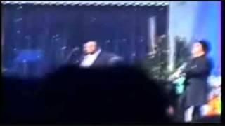 """PAVAROTTI  and  FRIENDS  2003 :  DUETTO   CON  ZUCCHERO    """" COSI"""