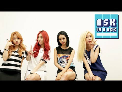 ASK IN A BOX: GIRL'S DAY(걸스데이) _ Ring My Bell(링마벨) [ENG/JPN/CHN SUB]