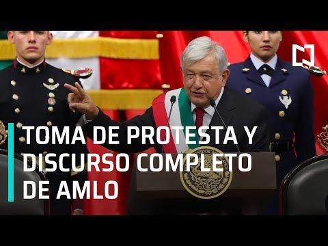 Toma de Protesta y discurso completo de AMLO como Presidente de México