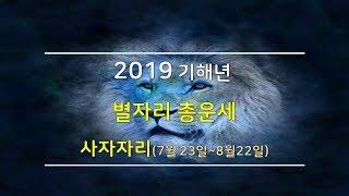 2019년 사자자리 별자리운세