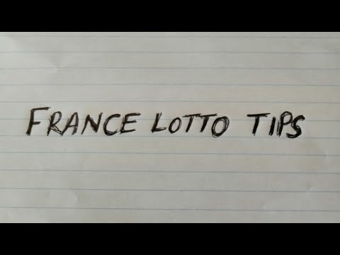 France Lotto Tips 10 August 2020