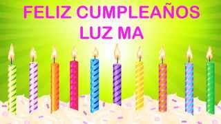 LuzMa   Wishes & Mensajes - Happy Birthday