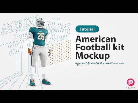 TRDesign Tutorial: How To Use A Mockup. American Football Kit Mockup V1