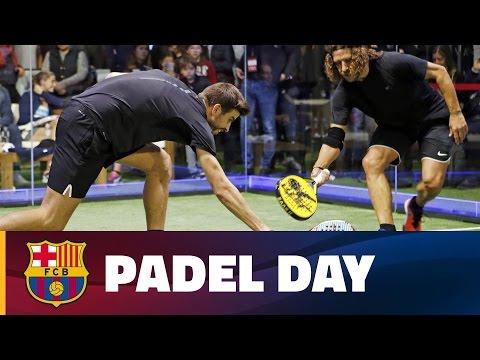 Gerard Piqué & Carles Puyol: padel day