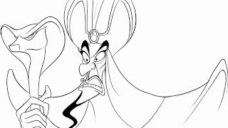 How To Draw Jafar in Disney
