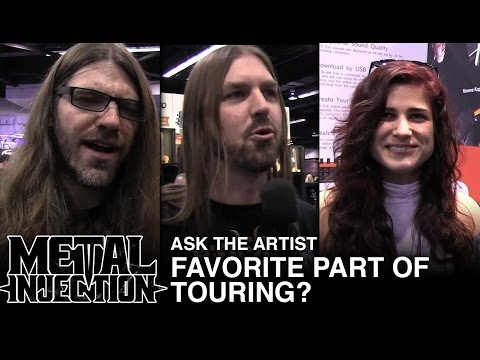 ASK THE ARTIST: Favorite Part of Touring? | Metal Injection