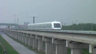 shanghai 上海磁浮列車(リニア)maglev Transrapid 431km/hPoint(HD) thumbnail