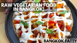 Bangkok Lunch Vlog: Raw Vegetarian Food and Dessert at Rasayana Restaurant