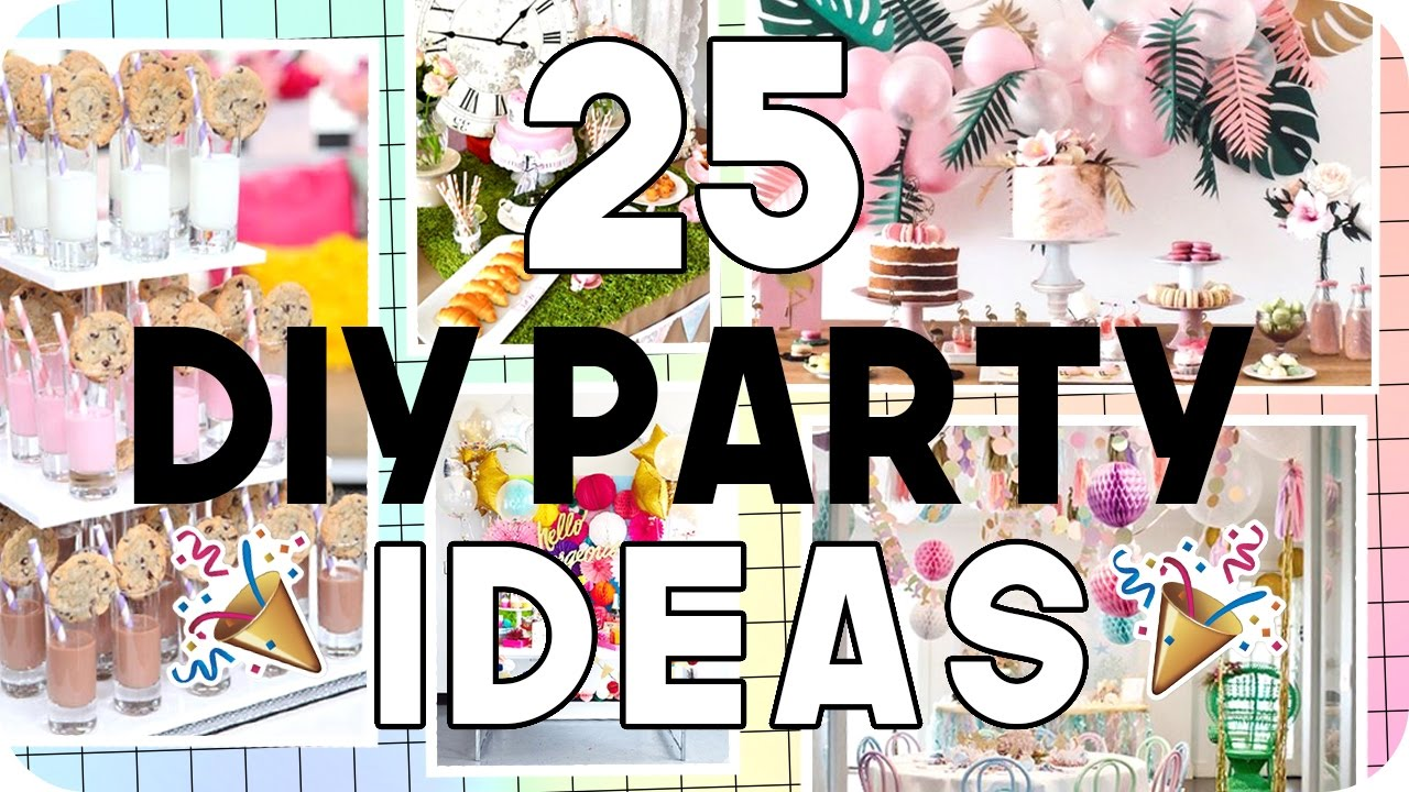25 Diy Party Ideas For All Ages You