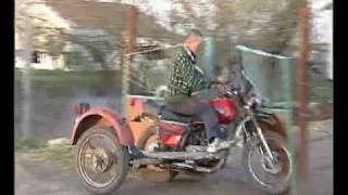 Безбашенный мотоциклист