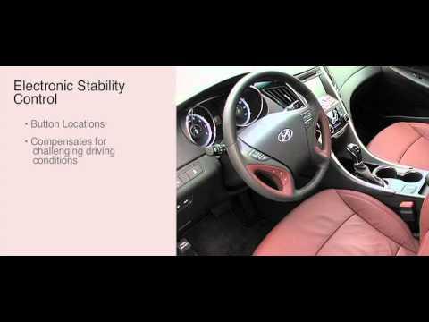 2013 Hyundai Sonata Electronic Stability Control Esc