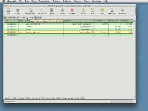 Accounting - Gnucash