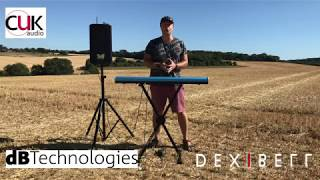 CUK Audio - Dexibell S1 stage piano & dBTechnologies BH-M PA speaker