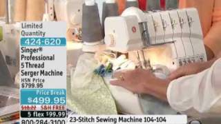 Singer Professional 5 Thread Serger Machine