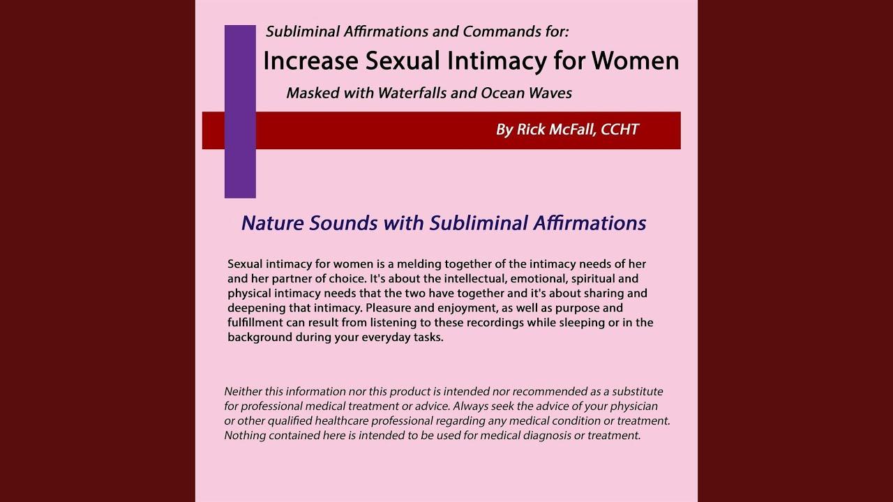 Sounds of women in pleasure