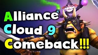 Alliance vs Cloud 9 - CRAZY COMEBACK! - DAC 2017 Dota 2