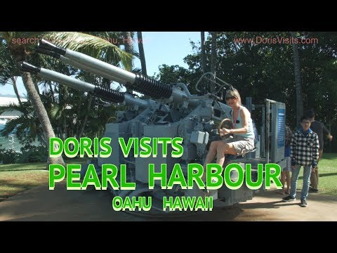 Oahu, Hawaii guides from Doris Visits. Jean visits Pearl Harbour, Pearl Harbor